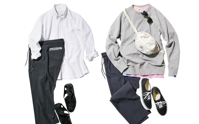 MELPLE メイプル グレースラックス LOOPWHEELER ループウィラー スウェット INDIVIDUALIZED SHIRTS インディビジュアライズド シャツ ボタンダウンシャツ