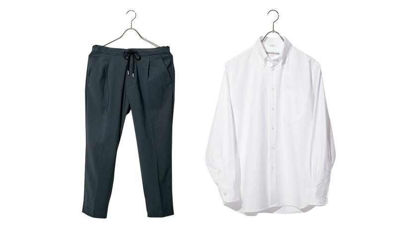 MELPLE メイプル グレースラックス INDIVIDUALIZED SHIRTS インディビジュアライズド シャツ ボタンダウンシャツ