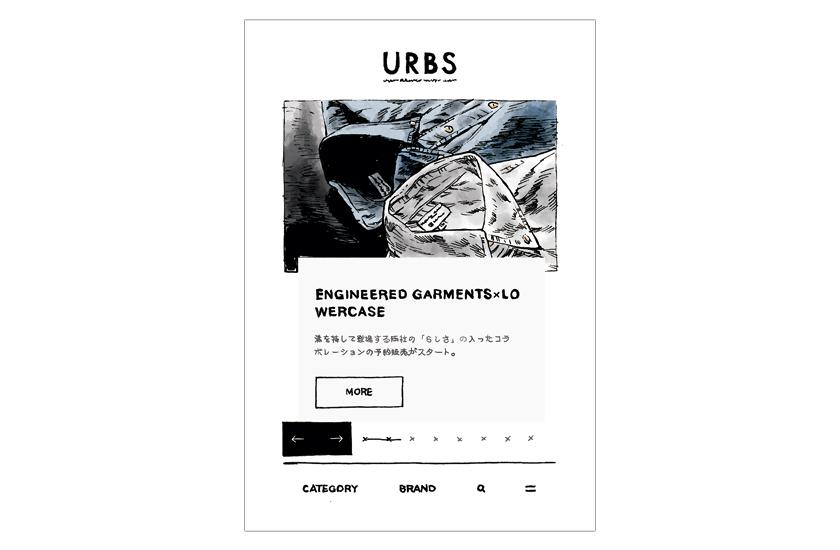URBS アーバンリサーチ バイヤーズセレクト