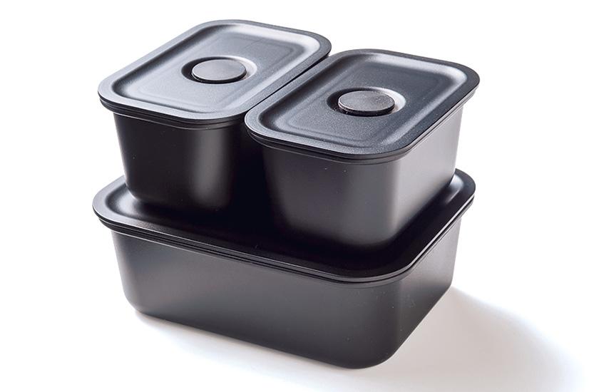 MUJI 無印良品 ポリプロピレン保存容器になるバルブ付き弁当箱