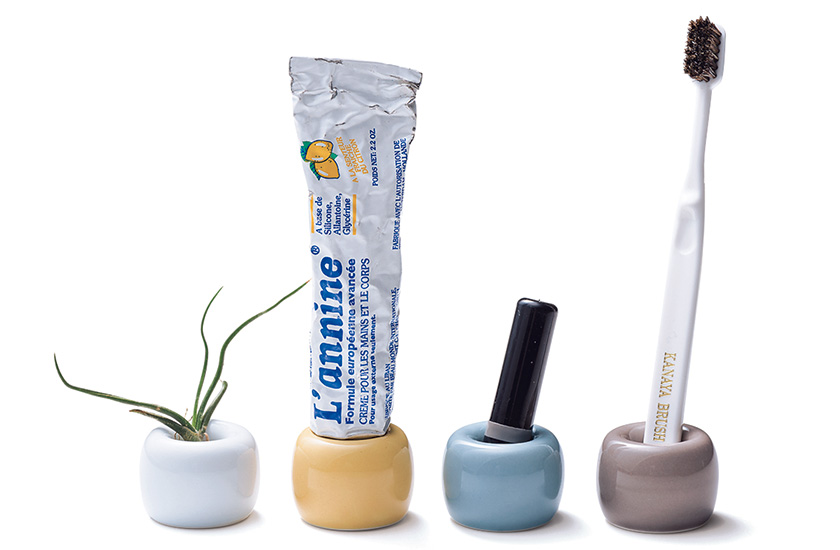 MUJI 無印良品 磁器歯ブラシスタンド