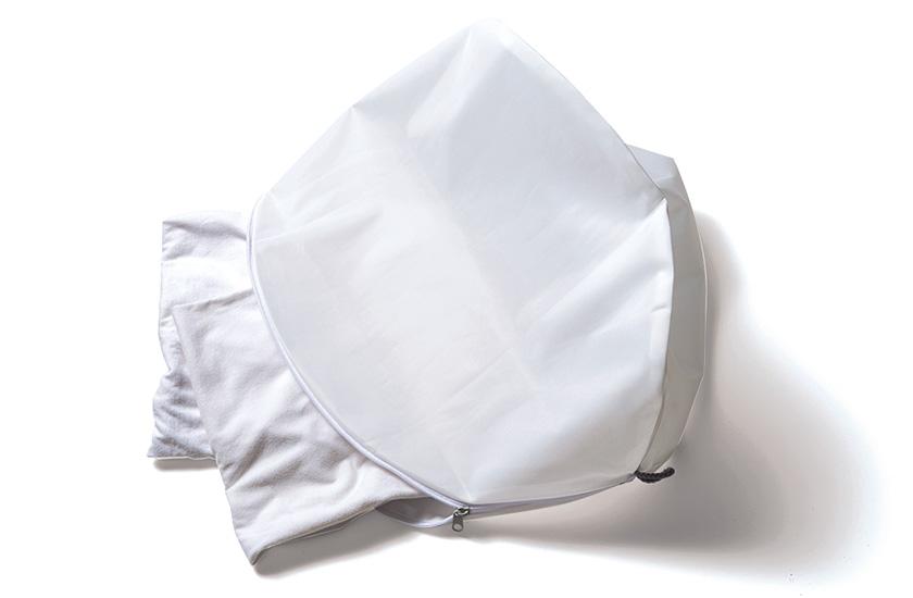 MUJI 無印良品 両面使える洗濯ネット・丸型大