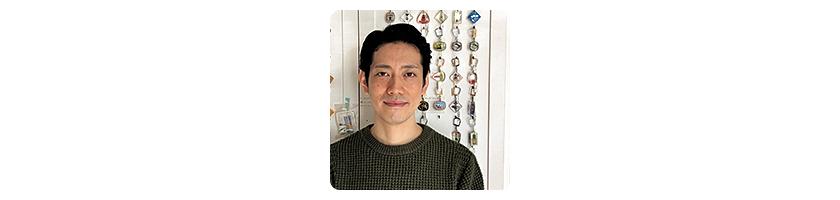 ンティーク雑貨 ミュー 店長の井上敬陽さん