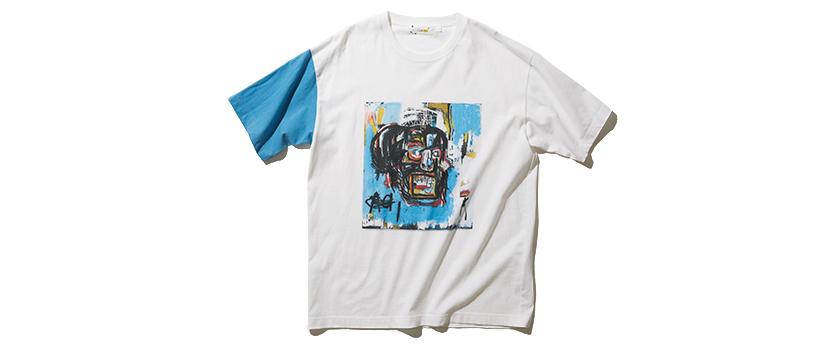 COLLECTIVE コレクティブ バスキアグラフィックTシャツ