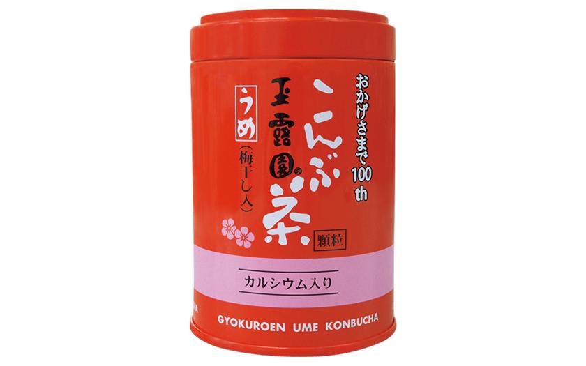 玉露園 カルシウム入り梅こんぶ茶