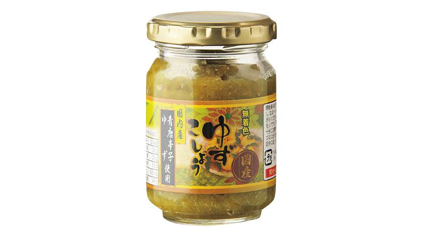 坂田信夫商店 国産青唐辛子・ゆず使用 ゆずこしょう