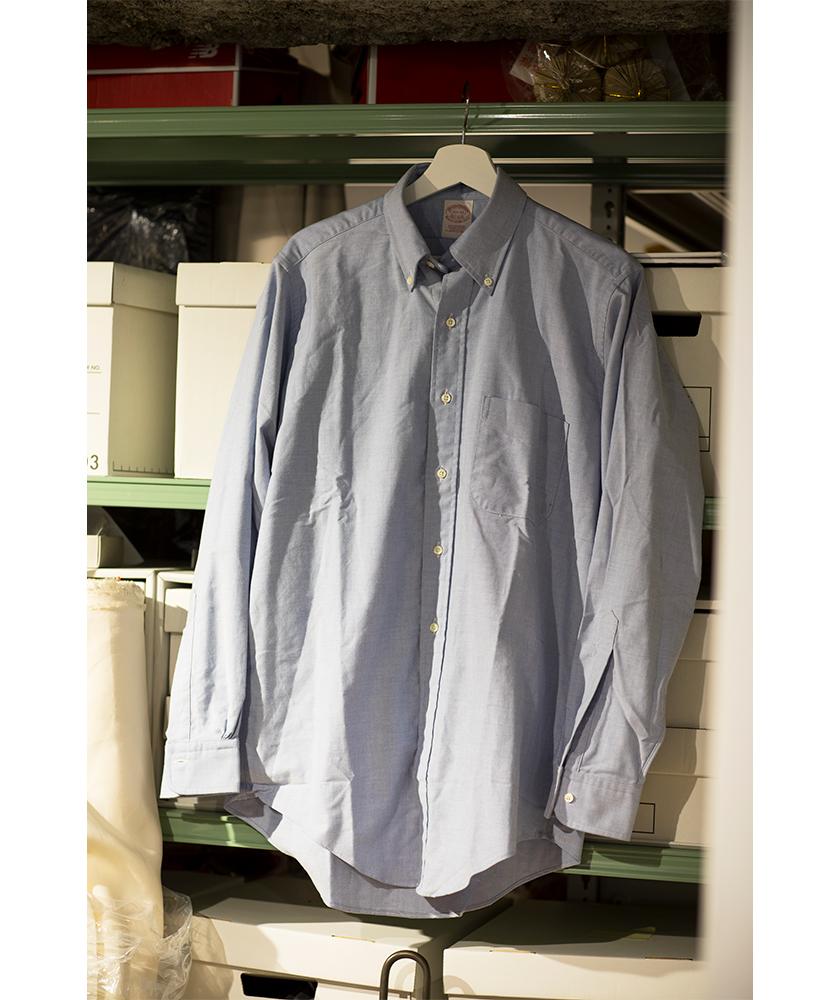 ブルックス ブラザーズのボタンダウンシャツ