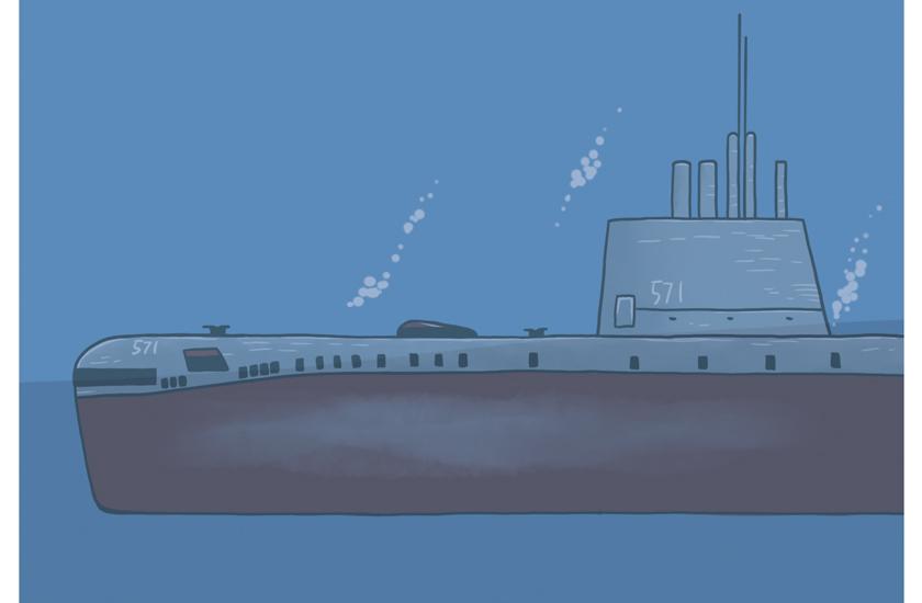 世界初の原子力潜水艦 ノーチラス