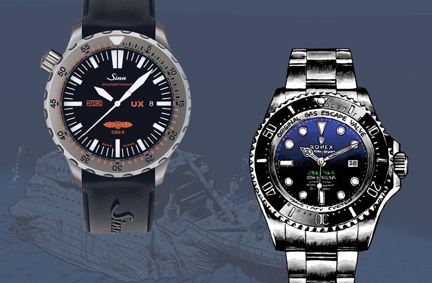 タイタニック級ダイバーズ時計