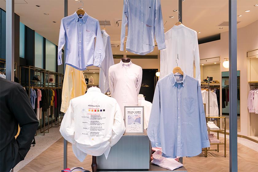 シャツラボ(Shirts LABO)をテーマにした期間限定特設スペース