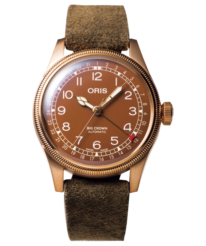 ORIS オリス ビッグクラウン ブロンズ ポインターデイト