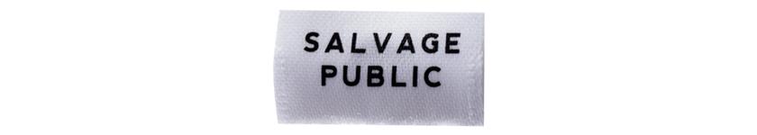 サルベージ パブリック×ビギン SALVAGE PUBLIC×Begin ロゴ