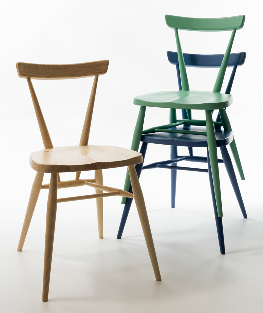 ERCOL アーコール STACKING CHAIR