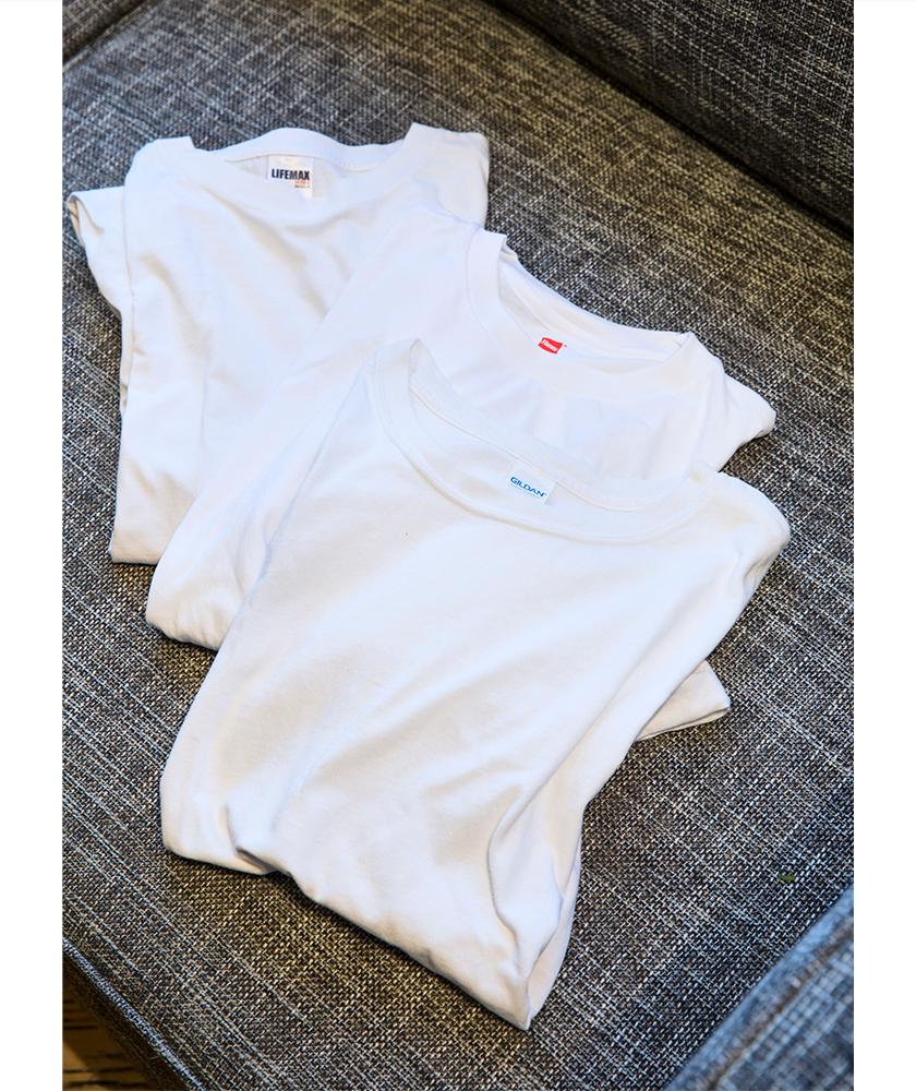 GILDAN ギルダンの白Tシャツ