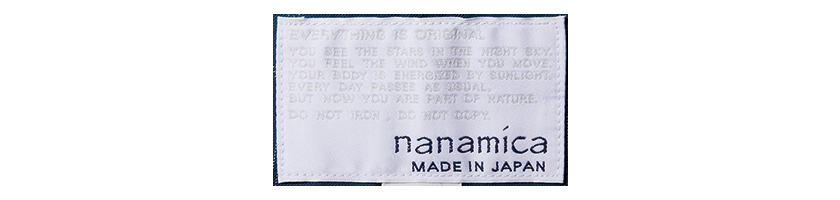 nanamica ナナミカ
