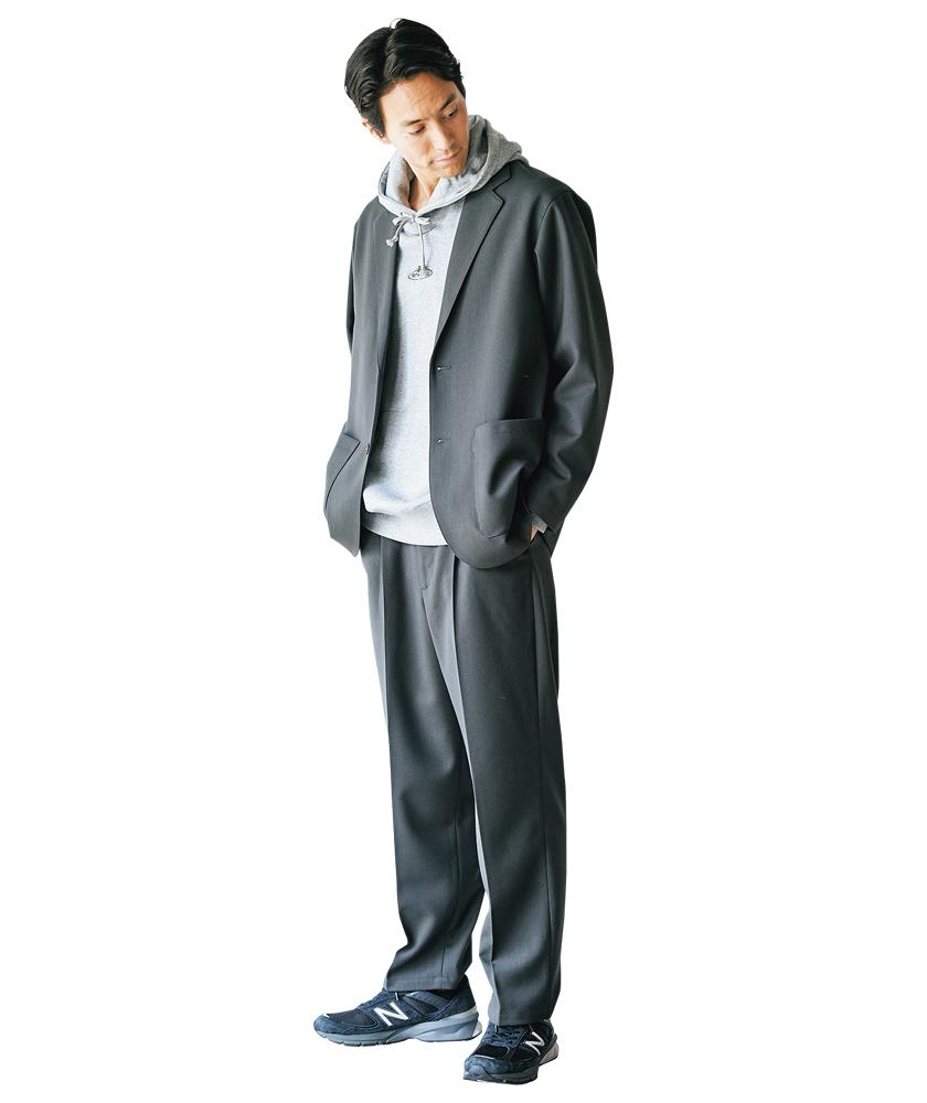 STEVEN ALAN スティーブン アラン ツイルジャケット+パンツ