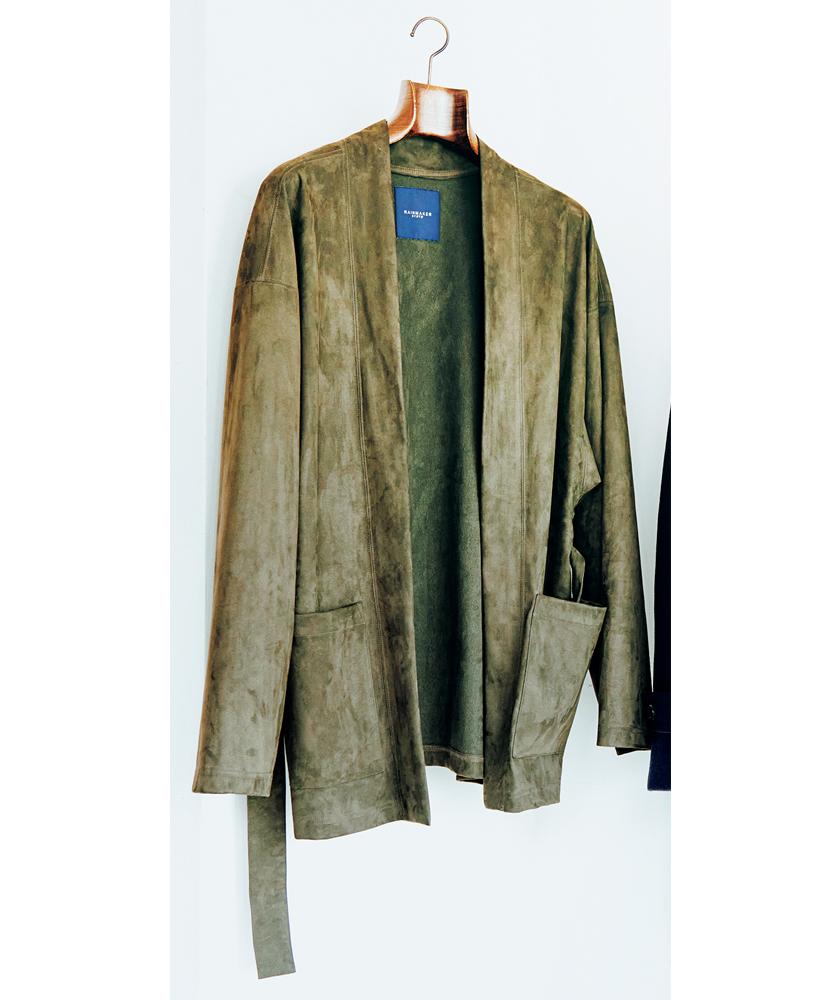 RAINMAKER レインメーカー エコスエード ベルテッドジャケット