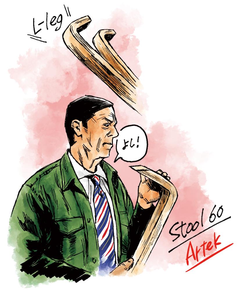 Artek アルテック スツール 60