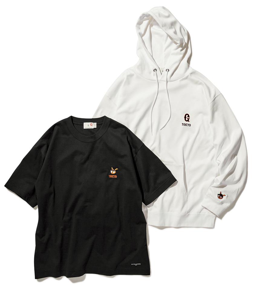 YOMIURI GIANTS×UNITED ARROWS 読売ジャイアンツ×ユナイテッドアローズ PARKA&T-shirt