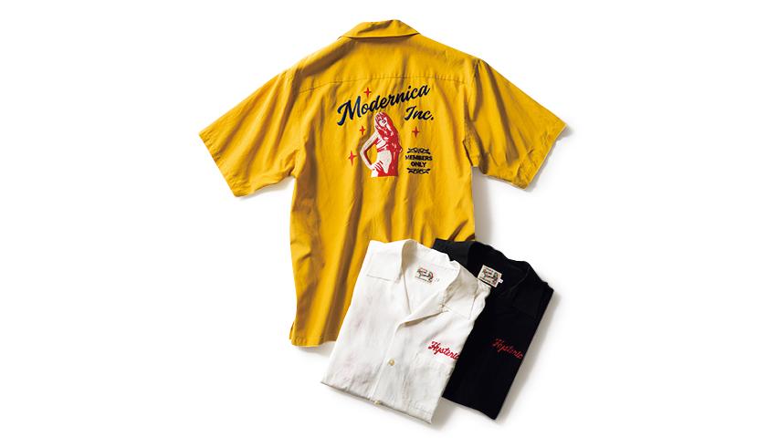 MODERNICA モダニカ ボウリングシャツ
