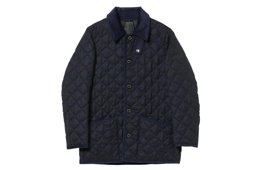 マッキントッシュ MACKINTOSH WAVERLY ウェーヴァリー ウール製キルティングジャケット