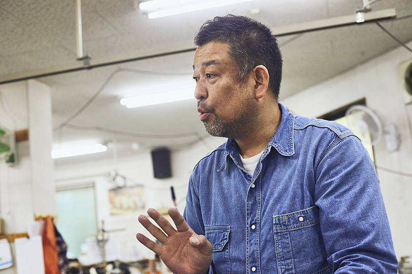 高木ソーイング代表 高木秀史さん