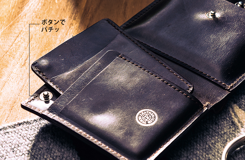 TOKYO LEATHER CLUB トーキョー・レザー・クラブ 3ピースウォレット