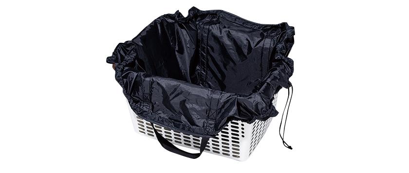 MIJI 無印良品 絞るだけで包めるポケッタブルバッグ