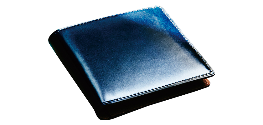 GANZO ガンゾ コードバンオーセンティック 小銭入れ付き2つ折り財布