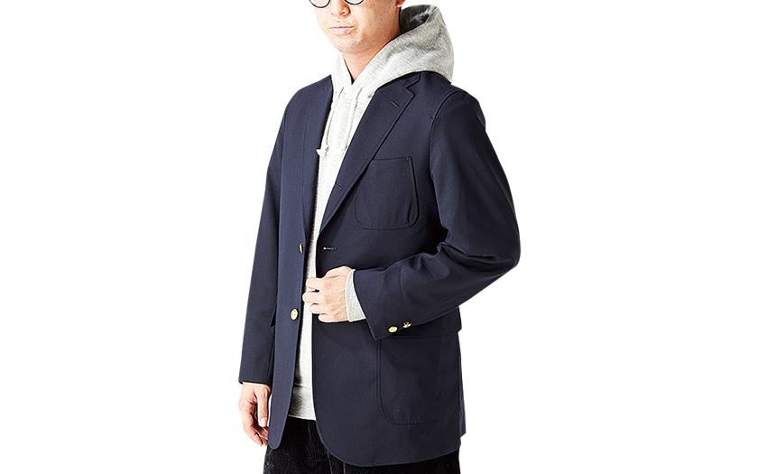 Muji 無印良品 ムラ糸裏毛 プルオーバーパーカー