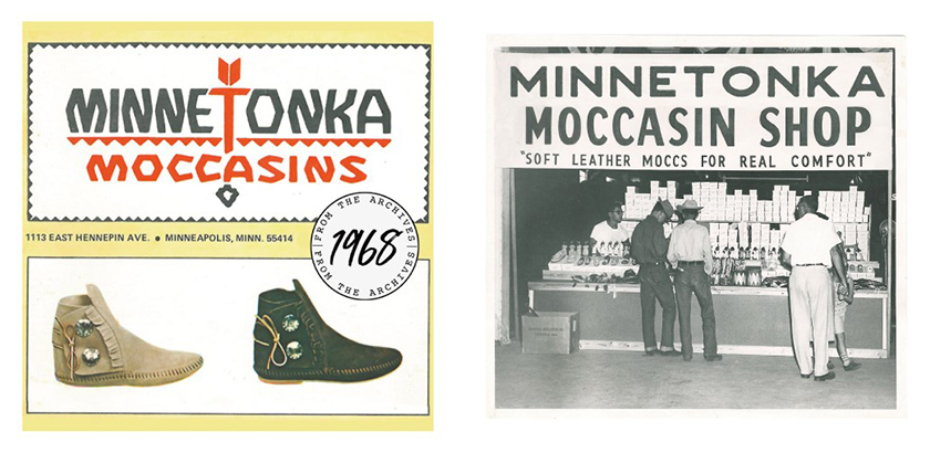 MINNETONKA ミネトンカ 1968年当時の広告