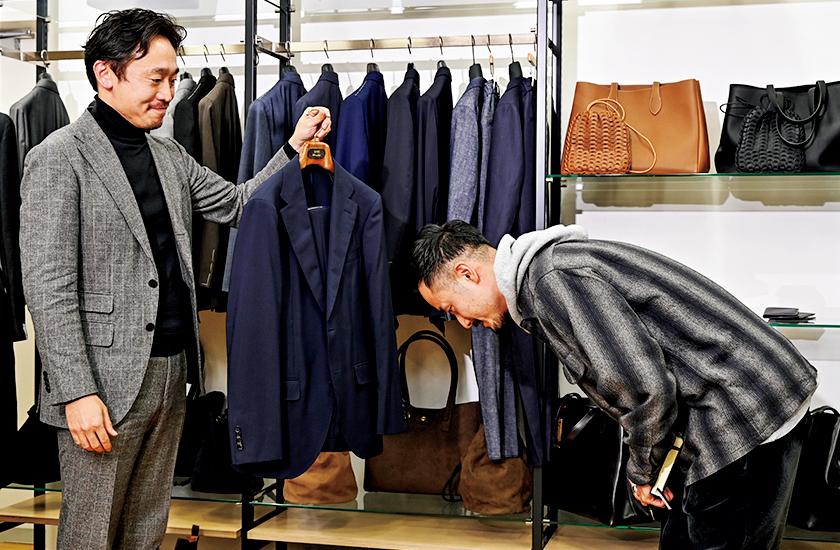 スーツ選び ネイビースーツ