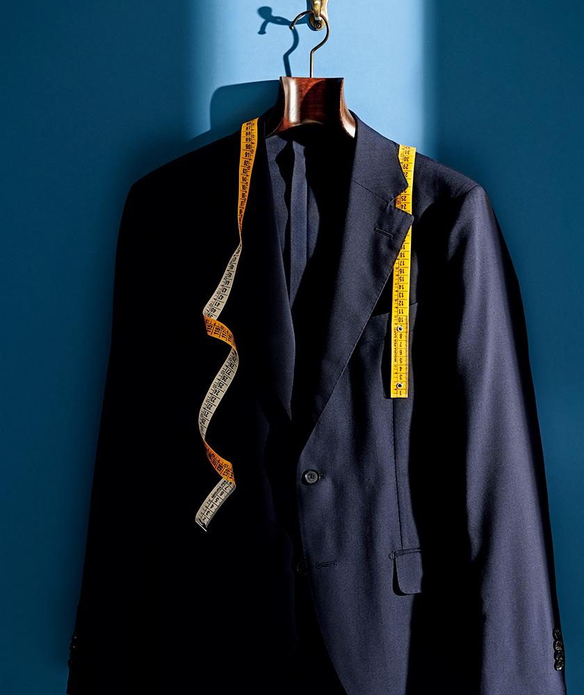 SHIPS シップス ネイビー ウールトロピカル 2B スーツ
