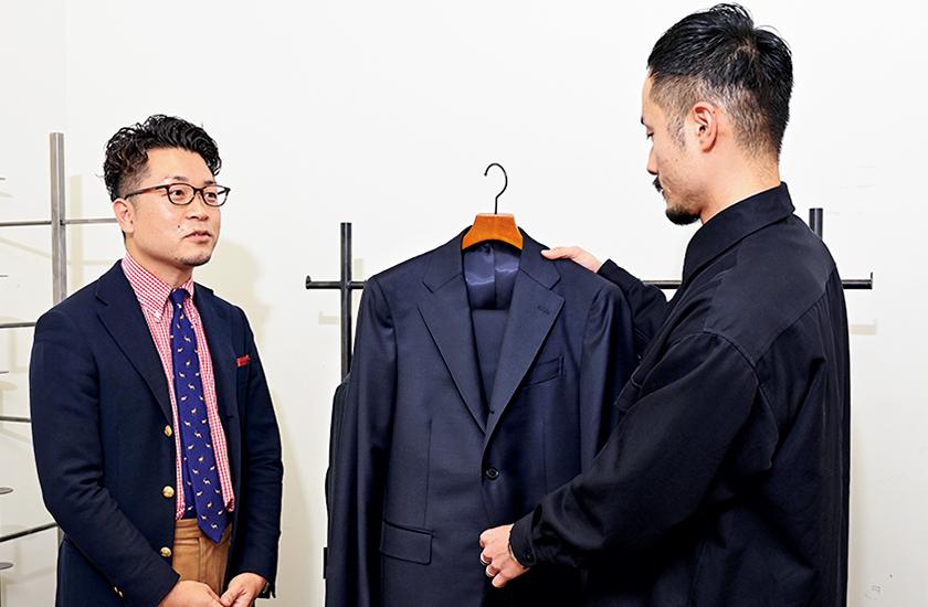 スーツ選び実況中継 グレースーツ編