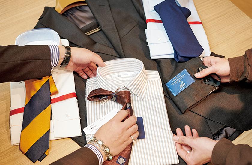 スーツ選びの実況中継 ブラウンスーツ