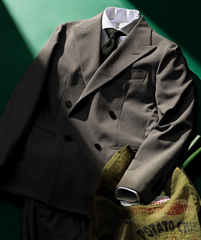 スーツ選び ダブルスーツ