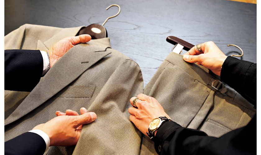 スーツ選びの実況中継 ダブルスーツ