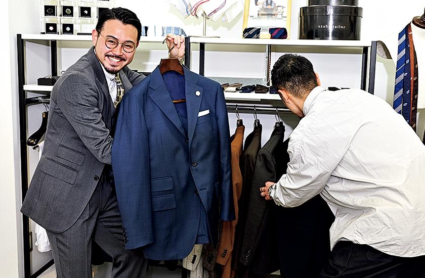 スーツ選びの実況中継 機能スーツ