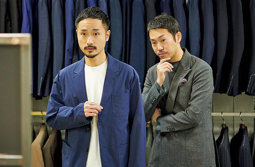 スーツ選び ニューノーマル編