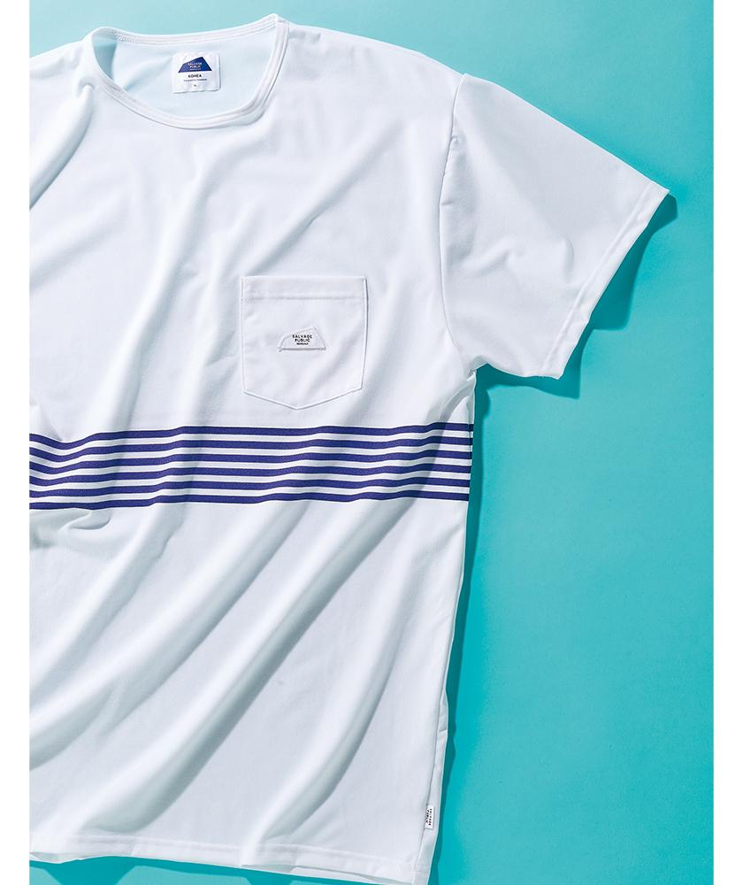 OSHMANS×SALVAGE PUBLIC オッシュマンズ×サルベージ パブリックのサーフTシャツ