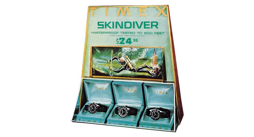 TIMEX タイメックスのスキンダイバー
