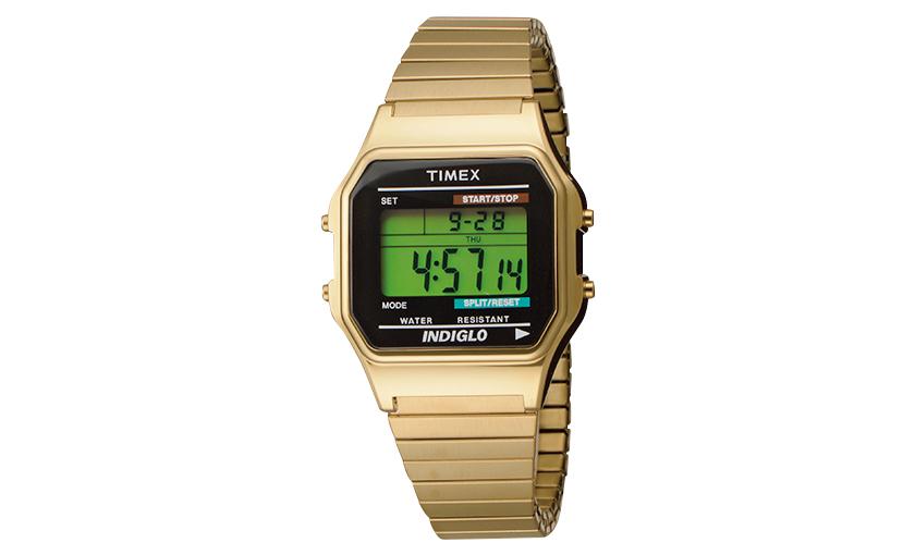 TIMEX タイメックスのクラシックデジタル