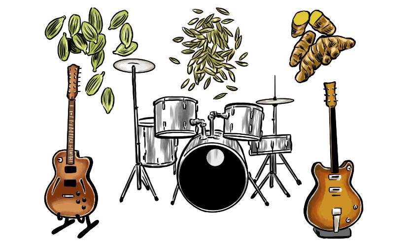 楽器とスパイス