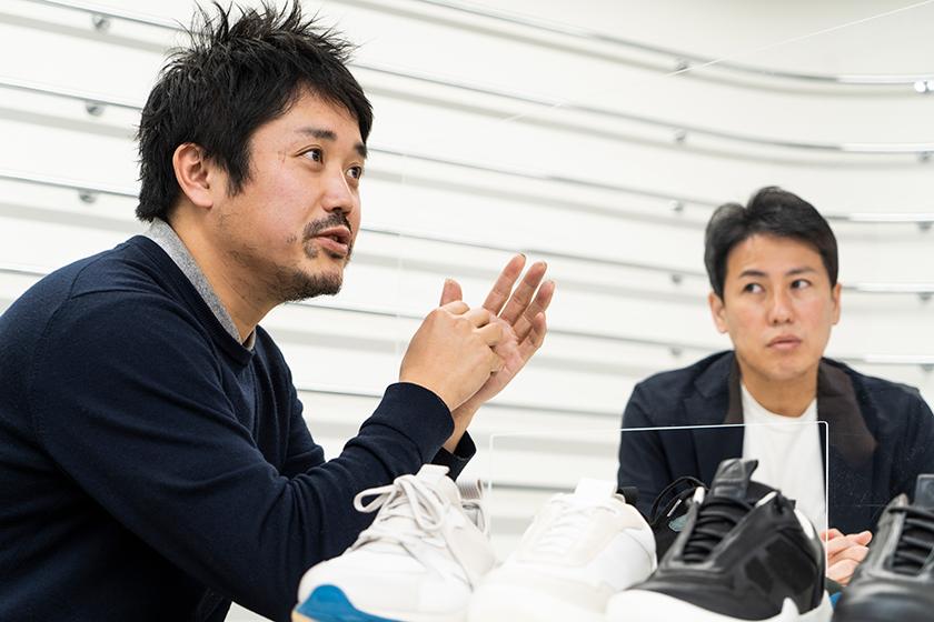 五宝賢太郎さんと田畑智康さん
