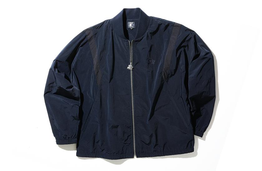 STARTER・BLUE BLUE スターター・ブルーブルー ナイロンジップジャケット
