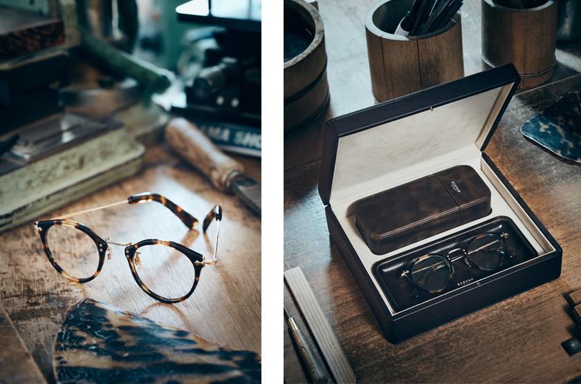 アイヴァン トータスシリーズ E-0505。本革製オリジナルケース・トレー付き。55万円~。