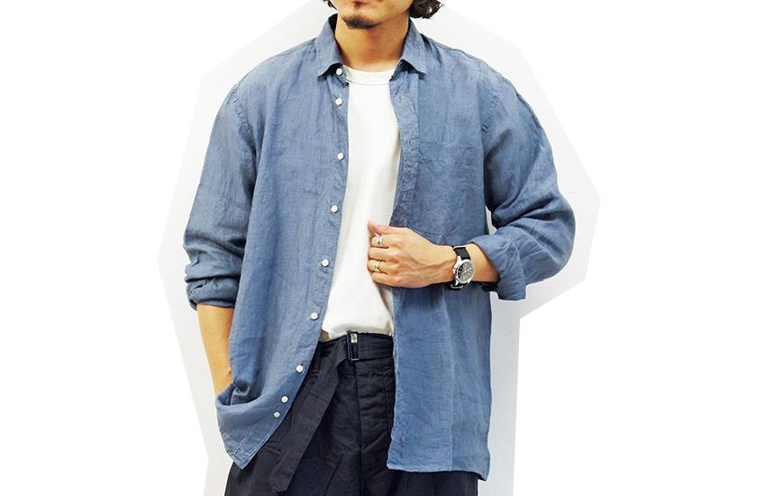 INDIVIDUALIZED SHIRTS インディビジュアライズド シャツのスクエアカット クラシックフィットシャツ