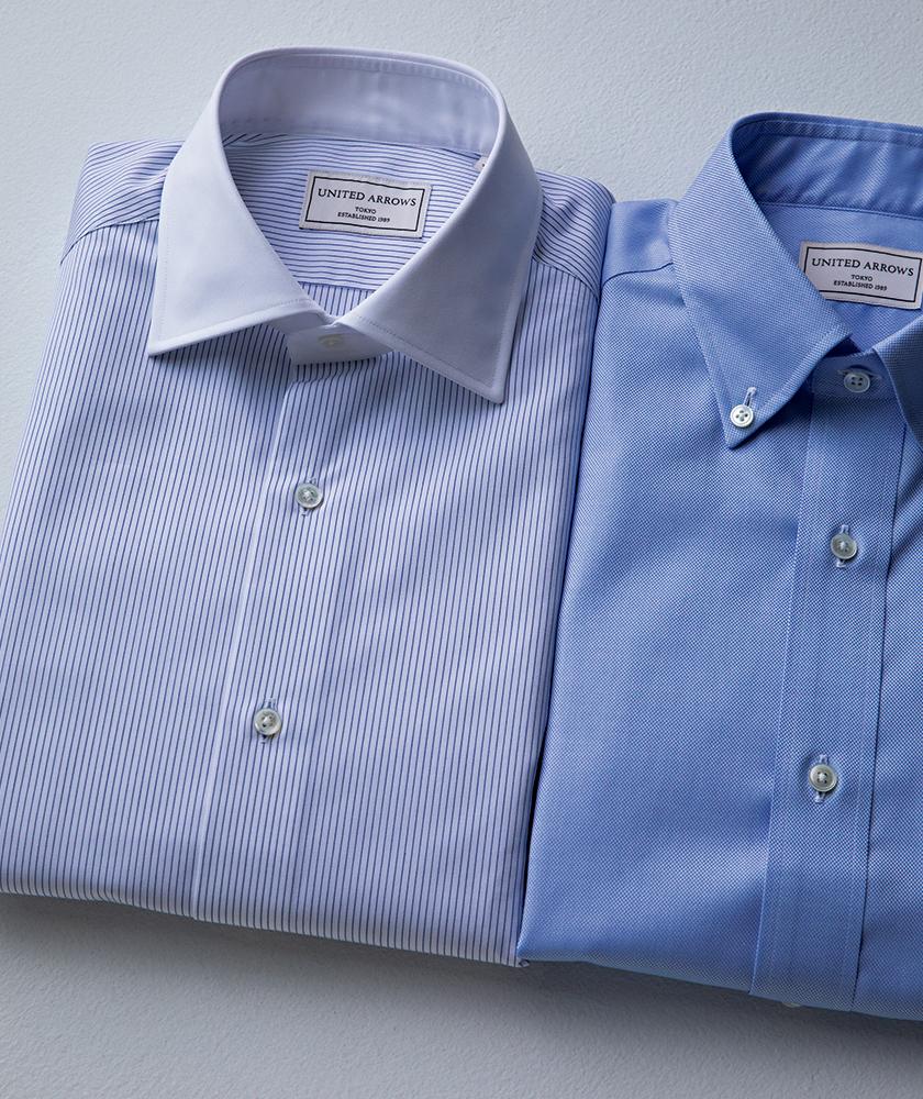 UNITED ARROWS ユナイテッドアローズのイージーケアドレスシャツ