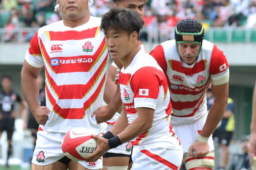 代表デビュー2試合で高い貢献度を見せたラグビー日本代表SH齋藤直人