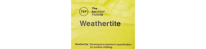 Weathertite ウェザータイト
